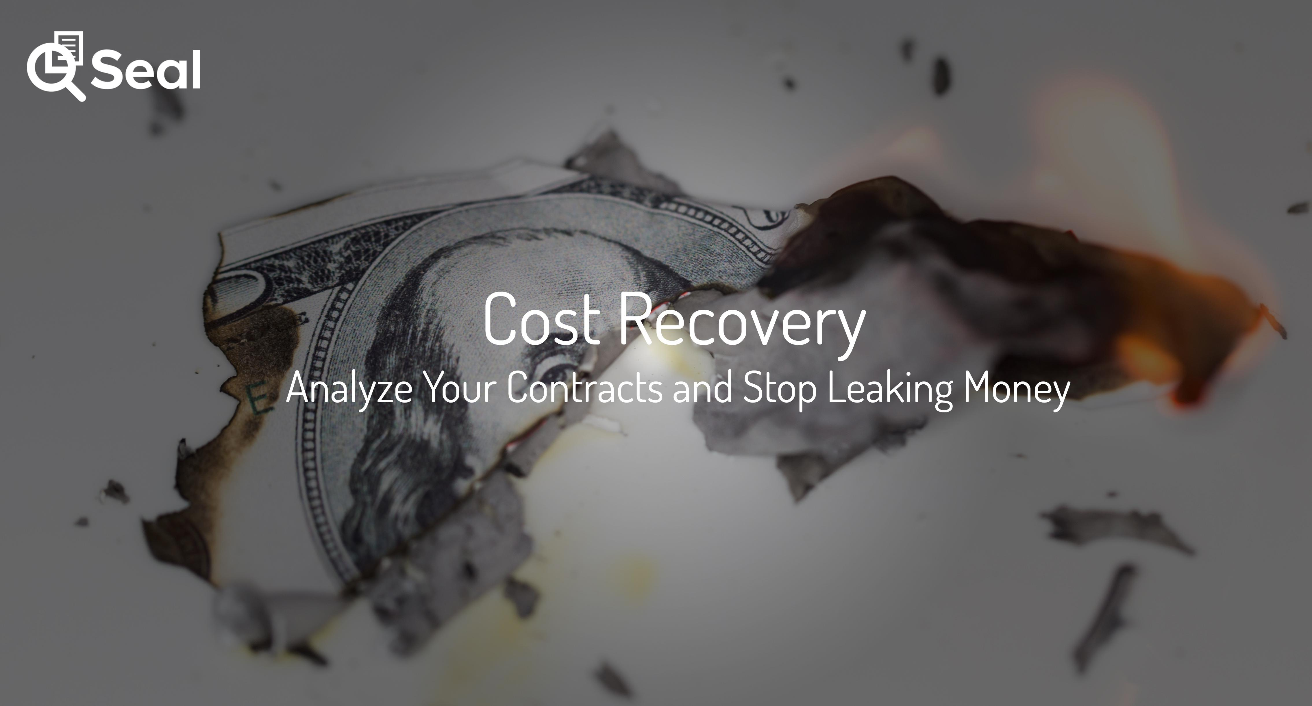 Cost Recovery – Analyze Your Contracts and Stop Leaking
