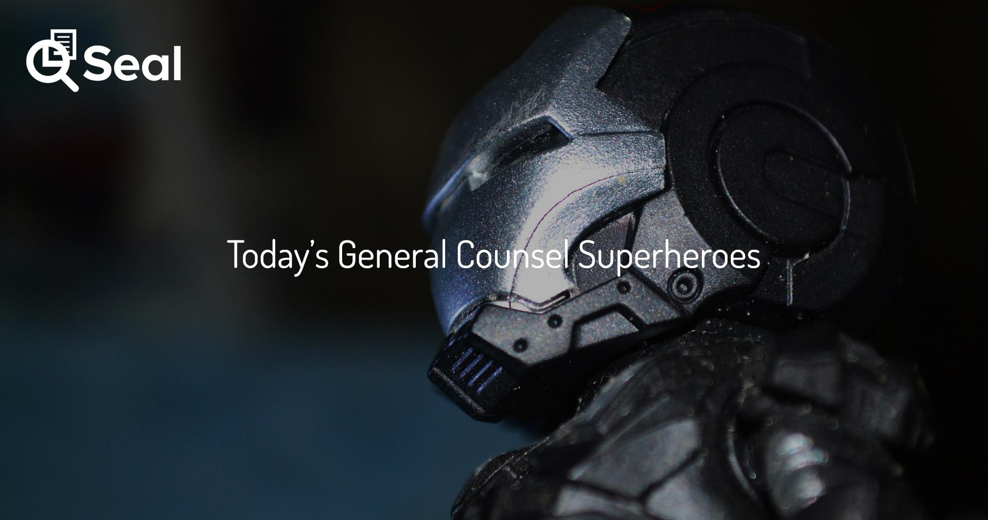 Today's General Counsel Superheroes