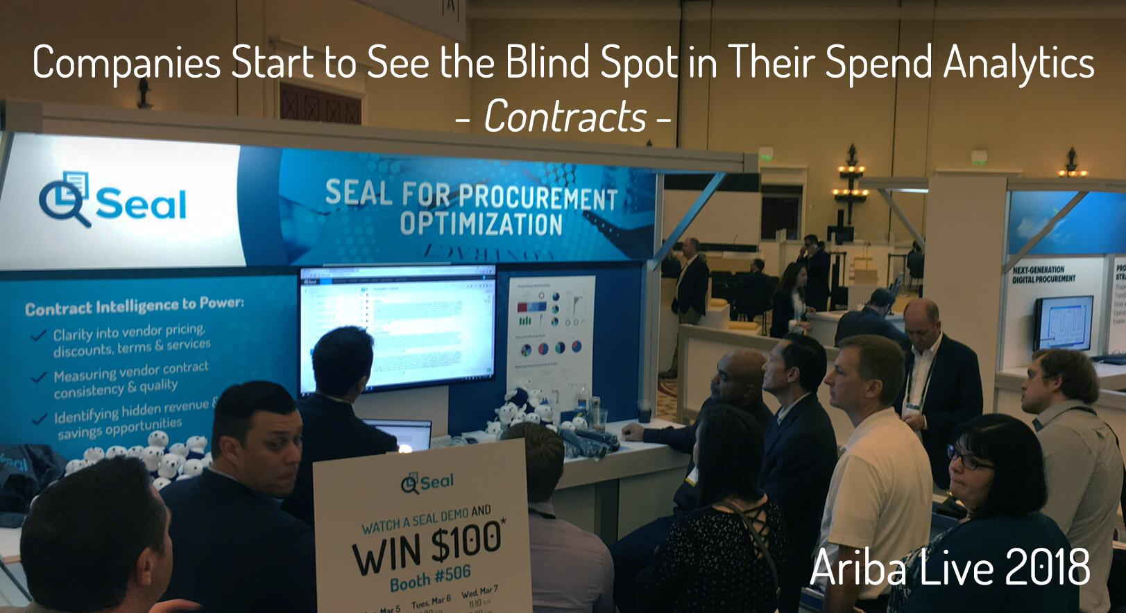 Ariba Live: Companies Start to See the Blind Spot in Their Spend Analytics: Contracts