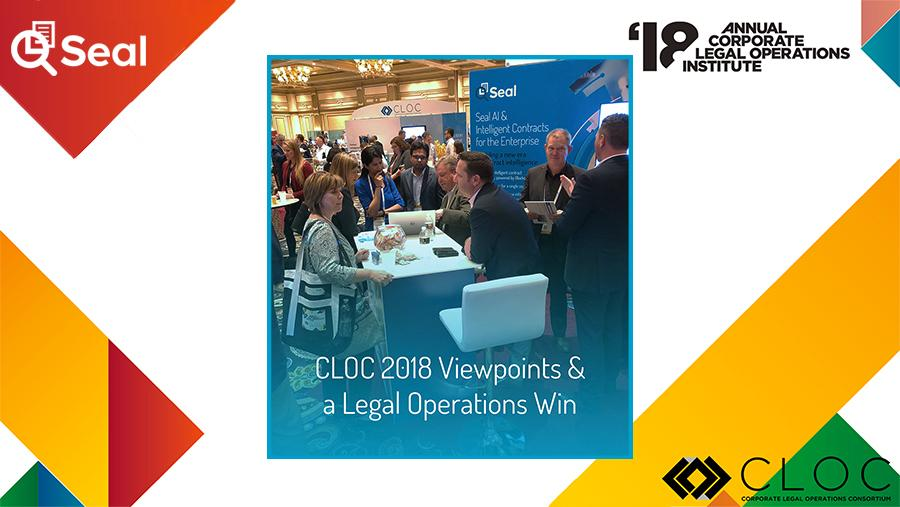 CLOC 2018 Viewpoints & a Legal Operations Win