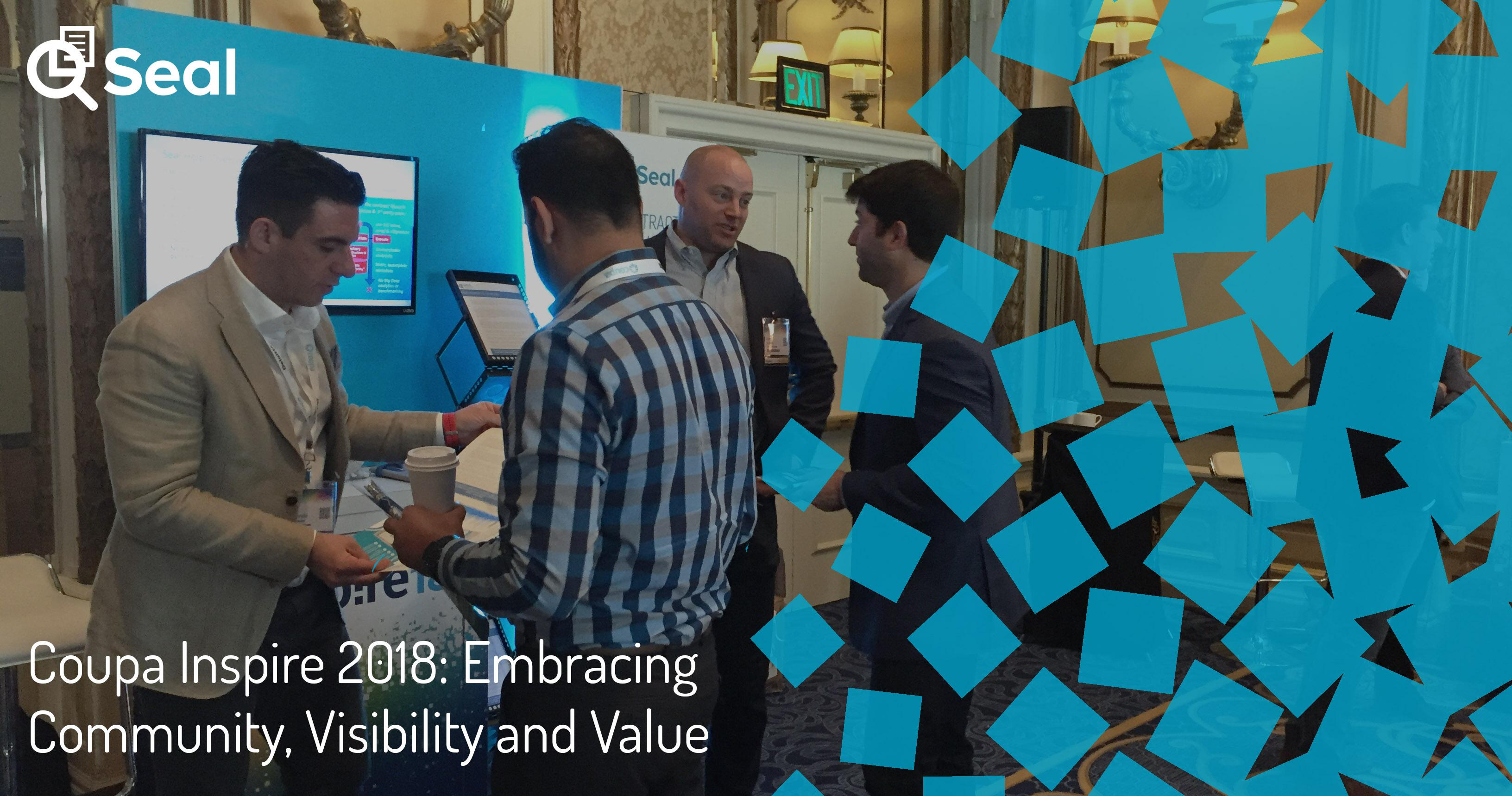 Coupa Inspire 2018: Embracing Community, Visibility and Value