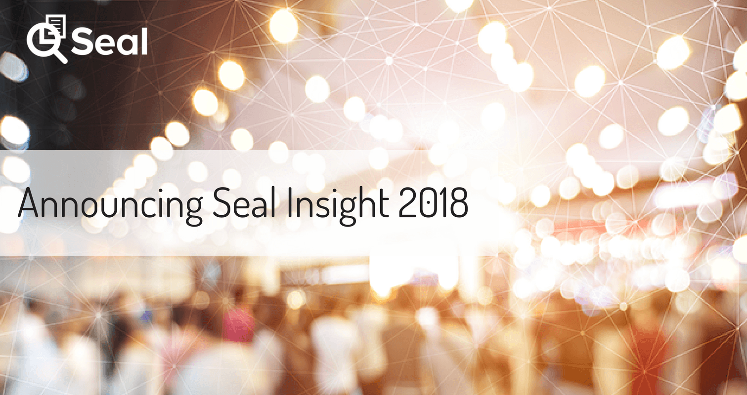 Announcing Seal Insight 2018