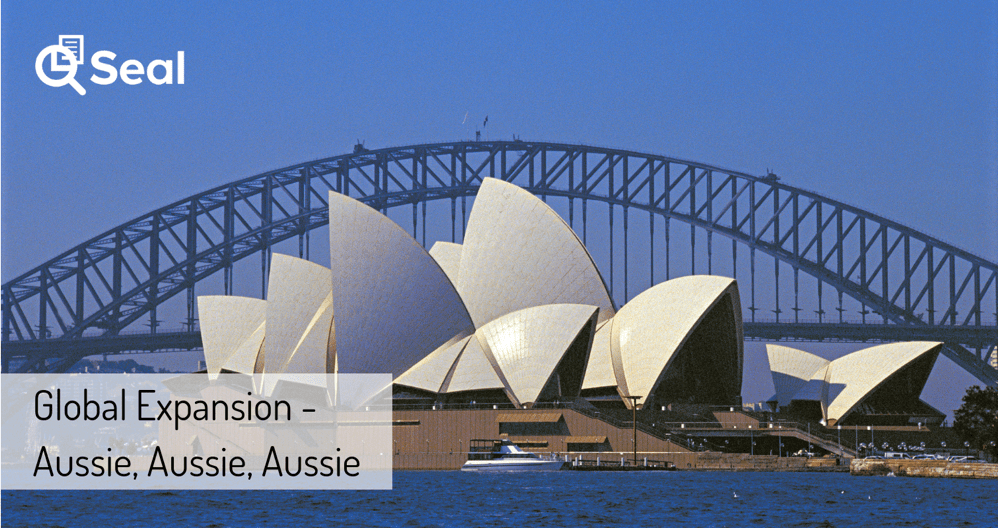 Global Expansion – Aussie, Aussie, Aussie