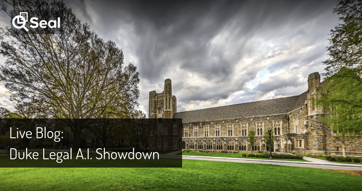 Live Blog: Duke Legal AI Showdown