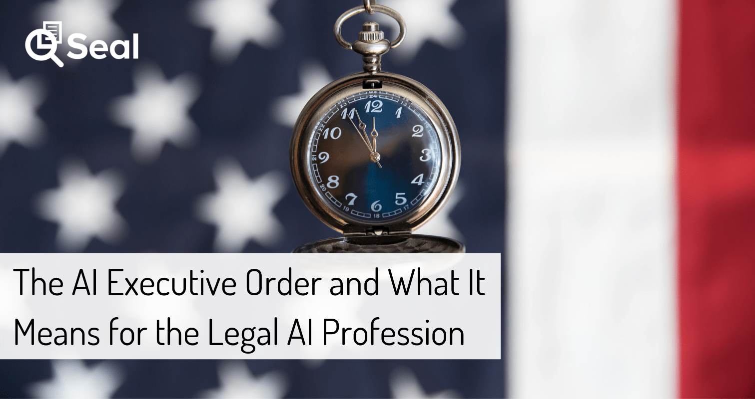 Impact of AI Executive Order on the Legal AI Profession