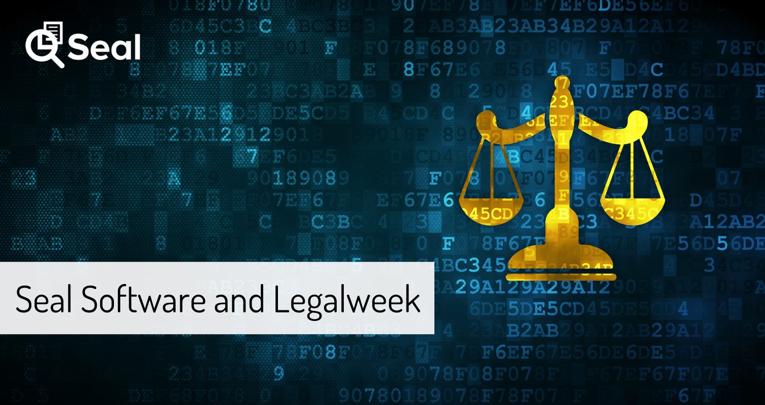 Seal Contract Analytics Software and Legalweek