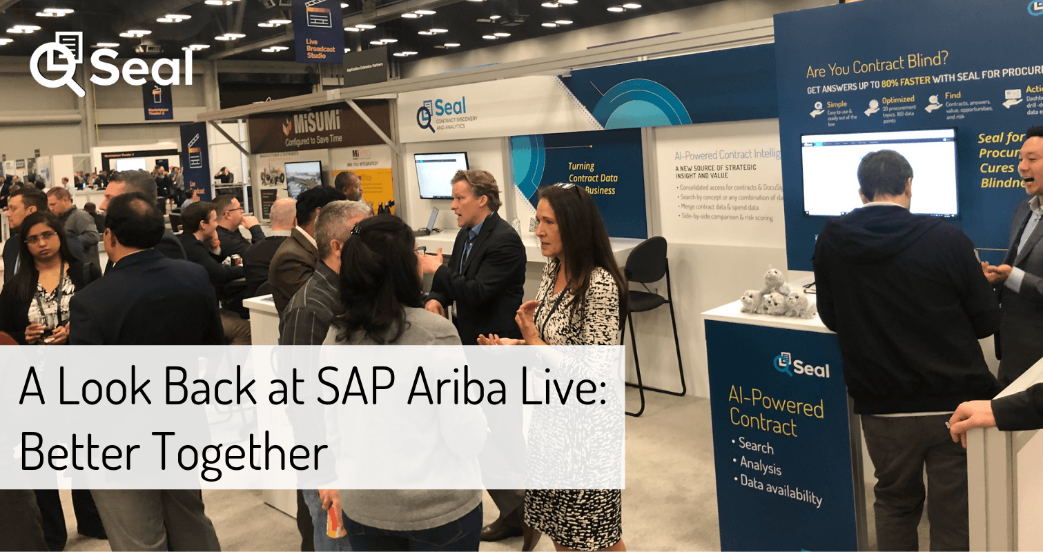 A Look Back at SAP Ariba Live: Better Together
