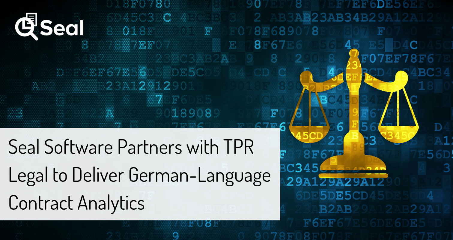 Seal Software Partners with TPR Legal to Deliver German-Language Contract Analytics