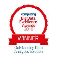 Seal Software Wins Outstanding Data Analytics Solution Award at Computing's 2018 Big Data Excellence Award Ceremony