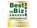 Best in Biz 2015 International Winner Most Innovative Company of the Year Award Thursday 06 August 2015