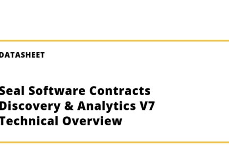 Seal Software Contracts Discovery & Analytics V7 Technical Overview
