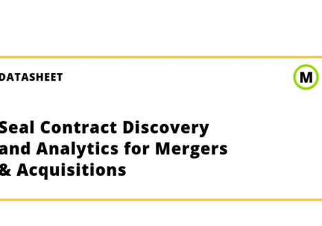 Seal Contract Discovery and Analytics for Mergers & Acquisitions