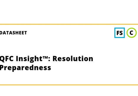 QFC Insight™: Resolution Preparedness