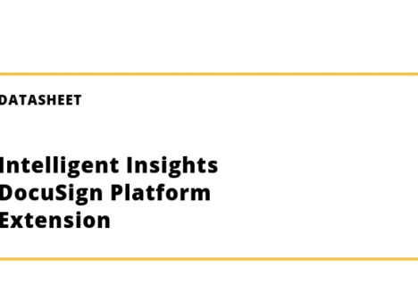 Intelligent Insights DocuSign Platform Extension