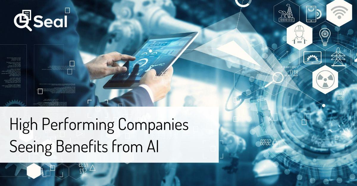 High Performing Companies Seeing Benefits from AI
