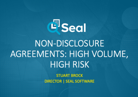 Non-Disclosure Agreements: High Volume, High Risk