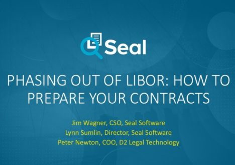 Phasing Out of LIBOR – How to Prepare Your Contracts