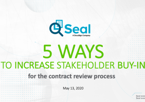 5 Ways to Increase Stakeholder Buy-in for the Contract Review Process