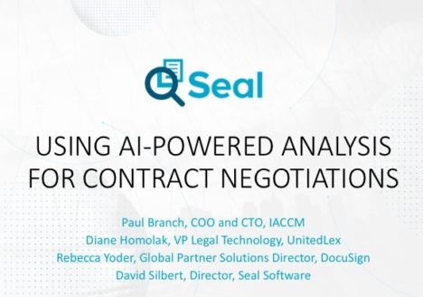 Using AI-Powered Analysis For Contract Negotiations
