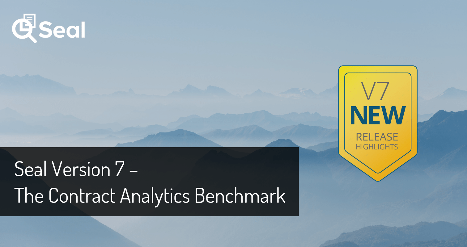 Seal Version 7 – The Contract Analytics Benchmark