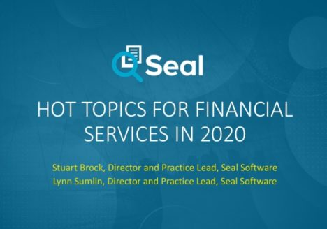 Hot Topics for Financial Services in 2020
