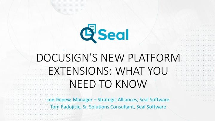 Resources - Seal Software