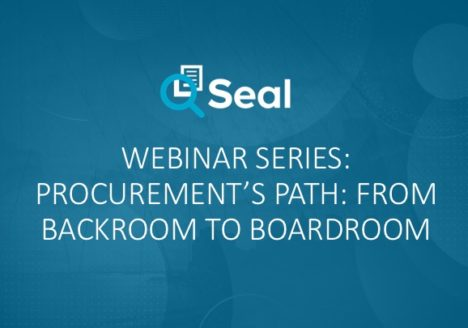 Webinar Series: Procurement's Path: From Backroom to Boardroom