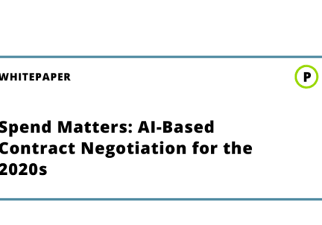 Spend Matters: AI-Based Contract Negotiation for the 2020s