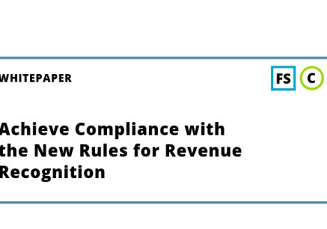 Achieve Compliance with the New Rules for Revenue Recognition Whitepaper